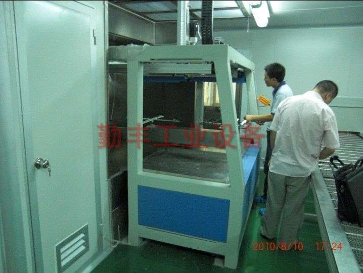 Reciprocating machine automatic injector line