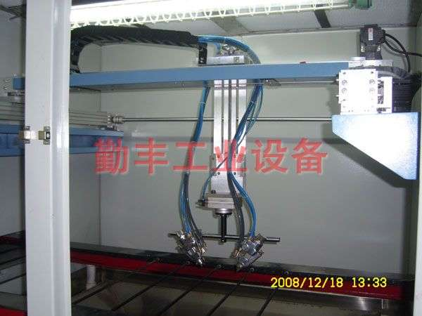 Uniaxial painting machine