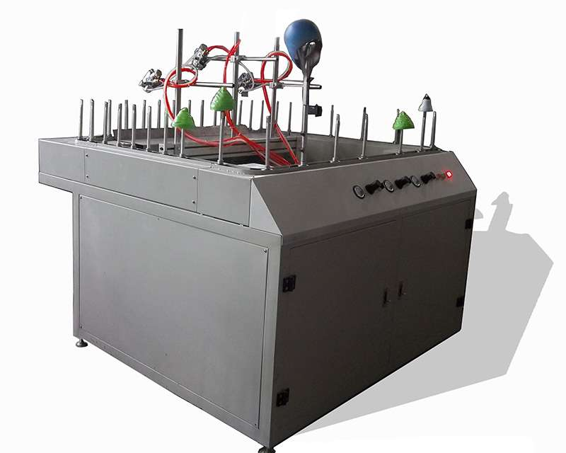 Mini-automatic spraying line